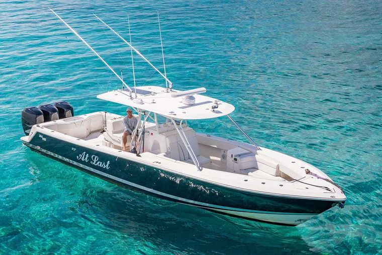 AT LAST Yacht Charter - 39' SeaVee Tender
