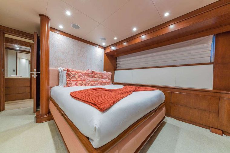 AT LAST Yacht Charter - Queen Stateroom #1