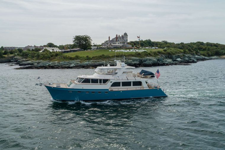 HALCYON SEAS Yacht Charter - Halcyon Seas and New England Cruising