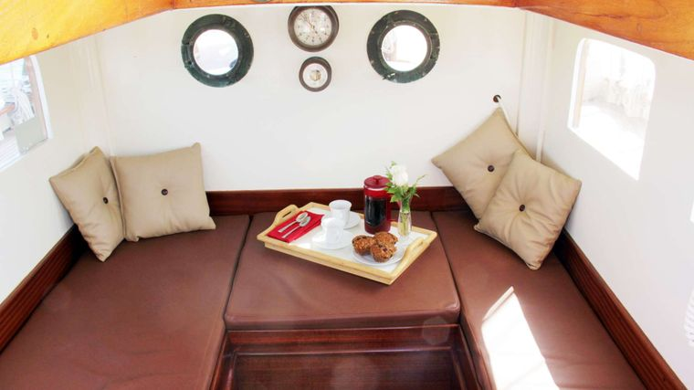 WHEN AND IF Yacht Charter - Pilot House