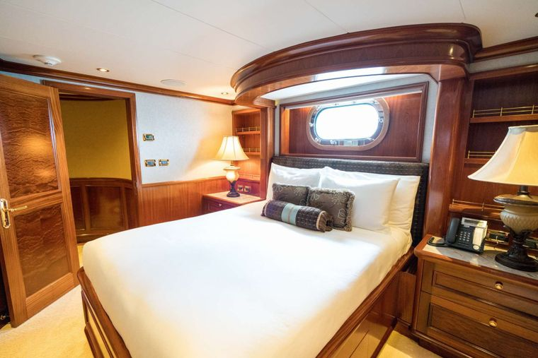 EXCELLENCE Yacht Charter - Guest Stateroom