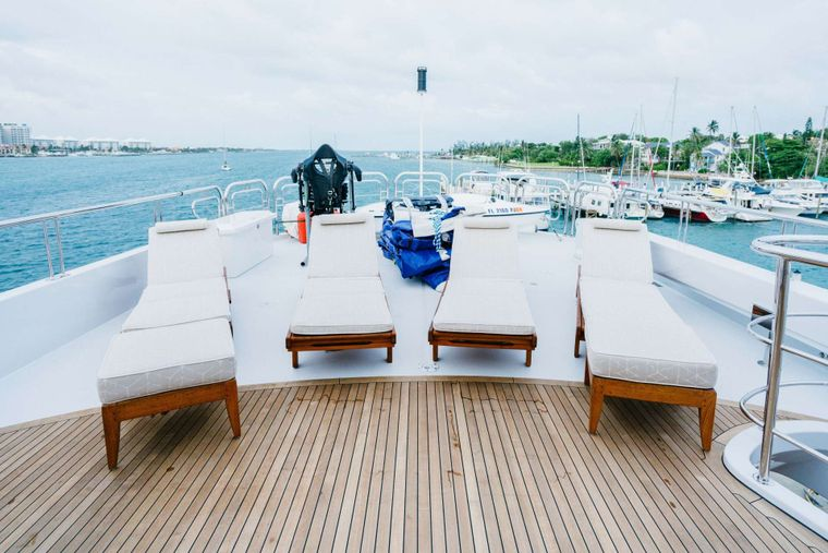 EXCELLENCE Yacht Charter - Perfect lounging area