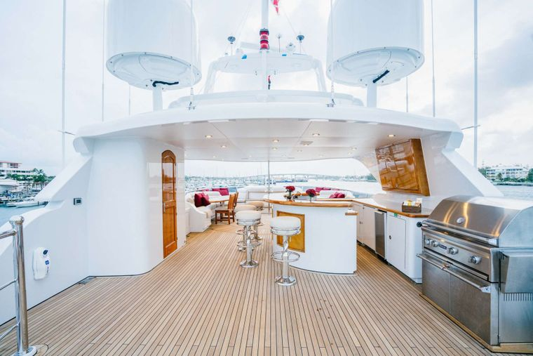 EXCELLENCE Yacht Charter - Upper deck