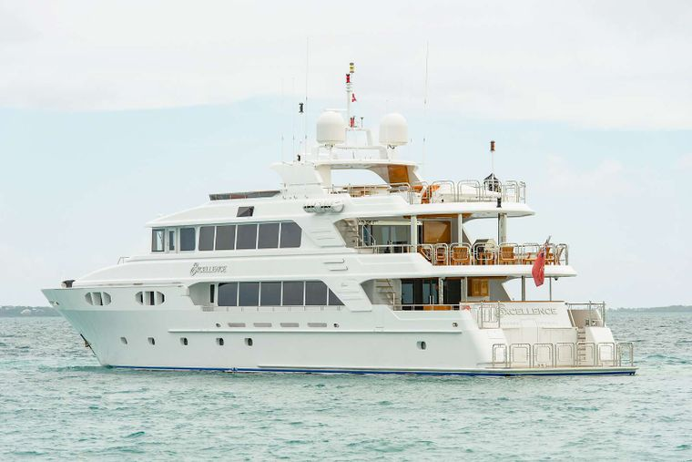 EXCELLENCE Yacht Charter - Stern view