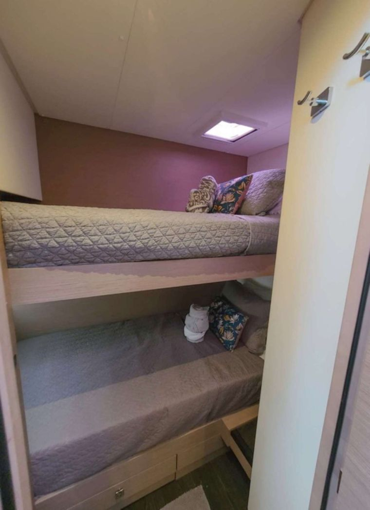 CHAMPS ELYSEES Yacht Charter - Bunk Cabin