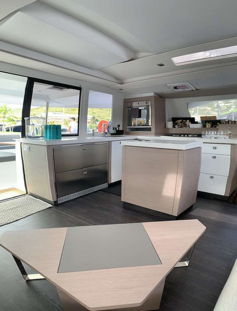 CHAMPS ELYSEES Yacht Charter - Galley
