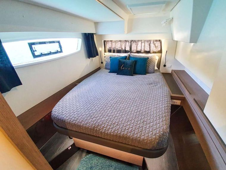 CHAMPS ELYSEES Yacht Charter - Starboard Aft Cabin