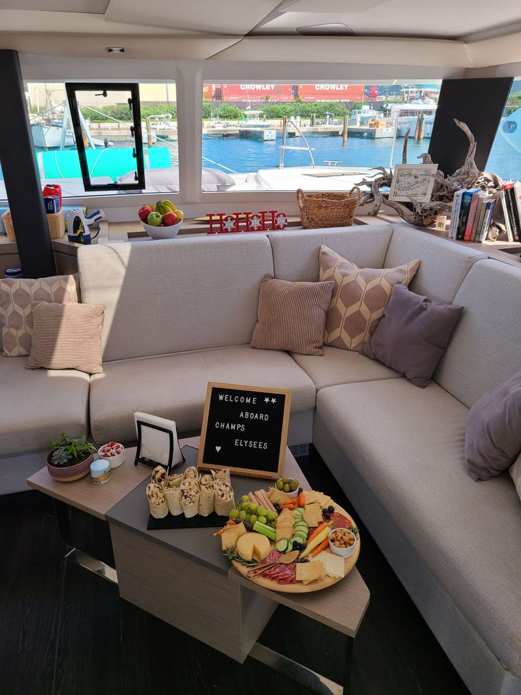 CHAMPS ELYSEES Yacht Charter - Welcome aboard!