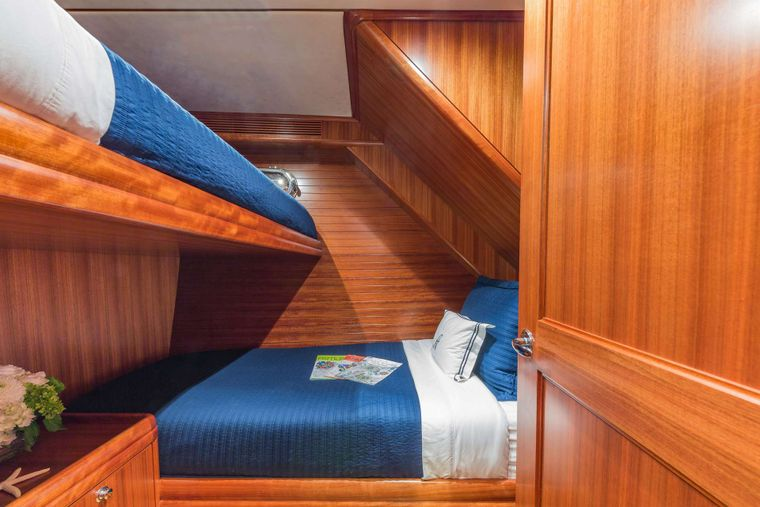 ASTURIAS Yacht Charter - Guest Stateroom Starboard