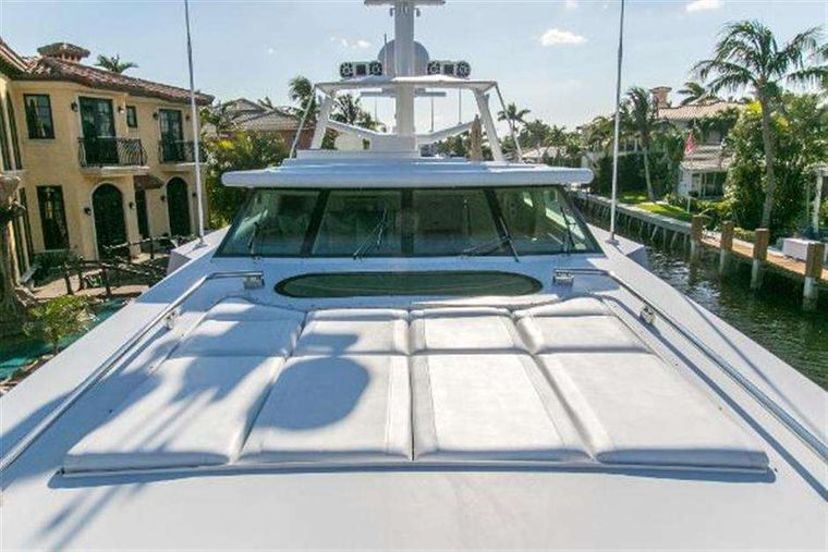 HIGHLINE Yacht Charter - Forward sun pad