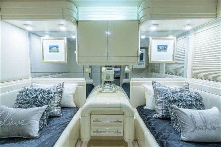 HIGHLINE Yacht Charter - Guest stateroom - two of two