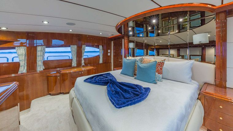 QUINTESSA Yacht Charter - On Deck King Master Stateroom