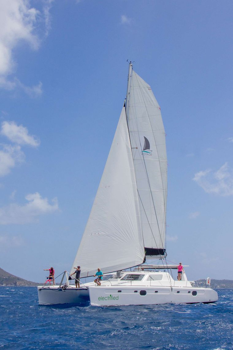 VOYAGE 480 ELECTRIC Yacht Charter - Ritzy Charters