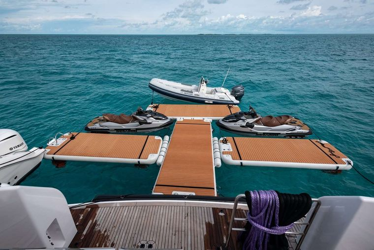 SEA AXIS Yacht Charter - Extended Swim Platform