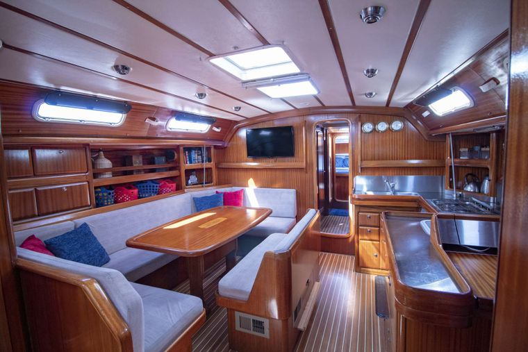 ODYSSEUS Yacht Charter - Spacious galley