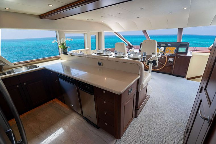 TRUE NORTH Yacht Charter - Galley