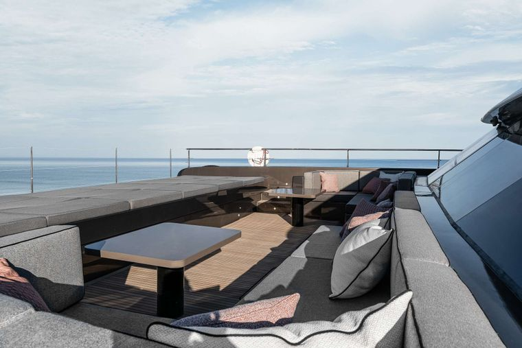 OTOCTONE 80 Yacht Charter - Front Terrace