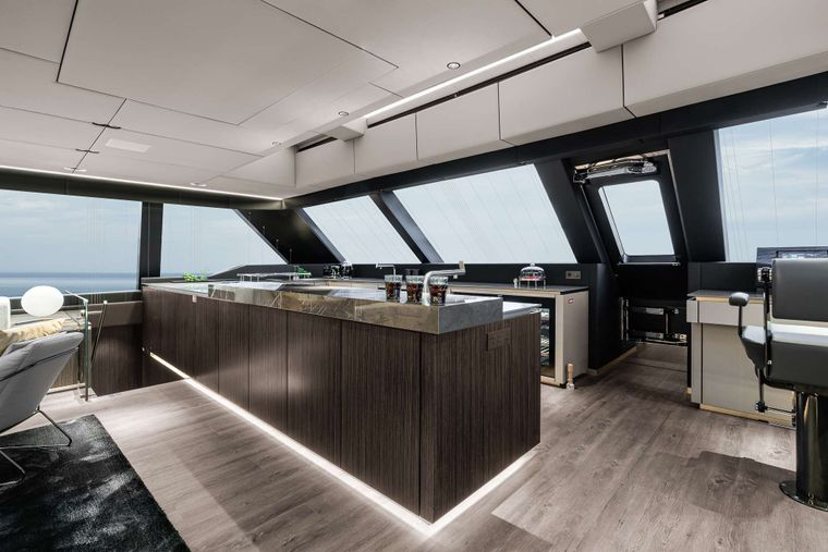OTOCTONE 80 Yacht Charter - Galley