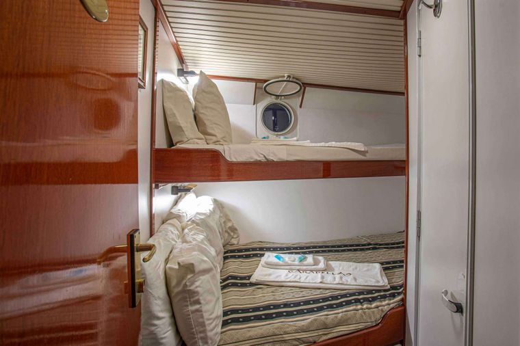 ARABELLA Yacht Charter - Guest Stateroom