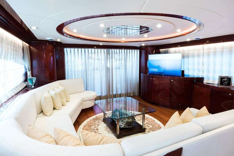 Albator 2 Yacht Charter - Salon - another view