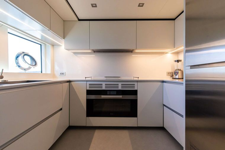 Penelope Yacht Charter - Galley