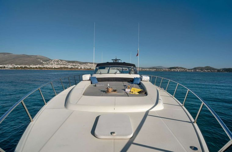 TURN ON Yacht Charter - Fore