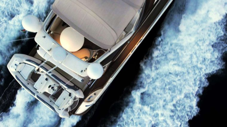 MEDUSA Yacht Charter - Aerial view