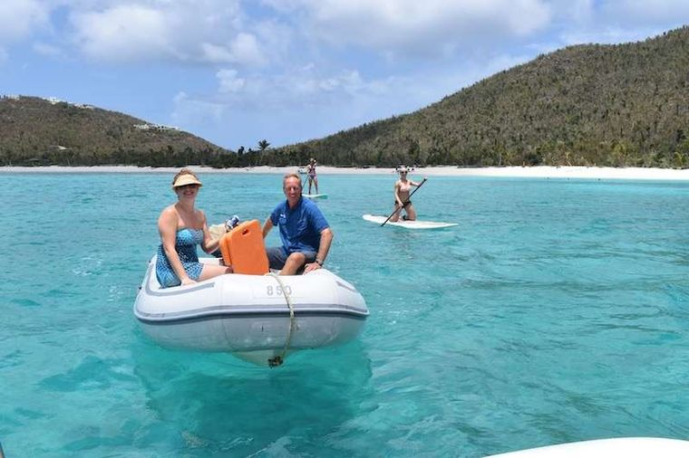 HERO'S JOURNEY Yacht Charter - Dinghy & sup