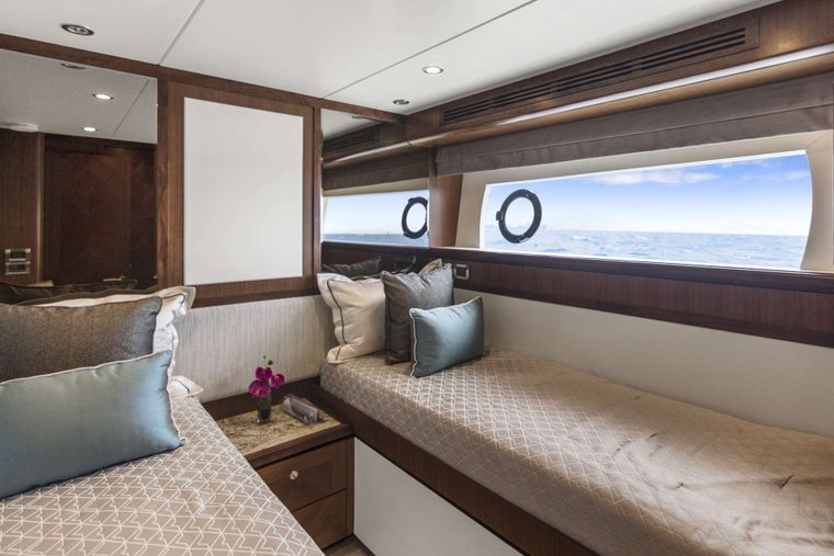 OCEAN ROSE Yacht Charter - Twin Stateroom/convertible stateroom