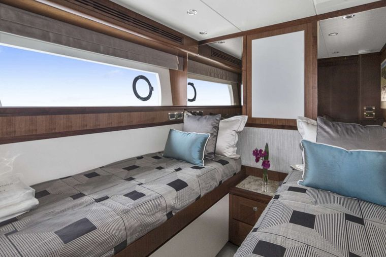 OCEAN ROSE Yacht Charter - Twin/convertible stateroom