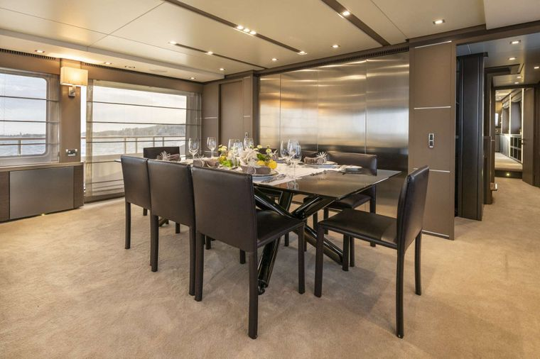 ORSO 3 Yacht Charter - Dining area