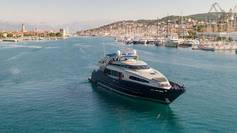 ONE BLUE Yacht Charter - Ritzy Charters