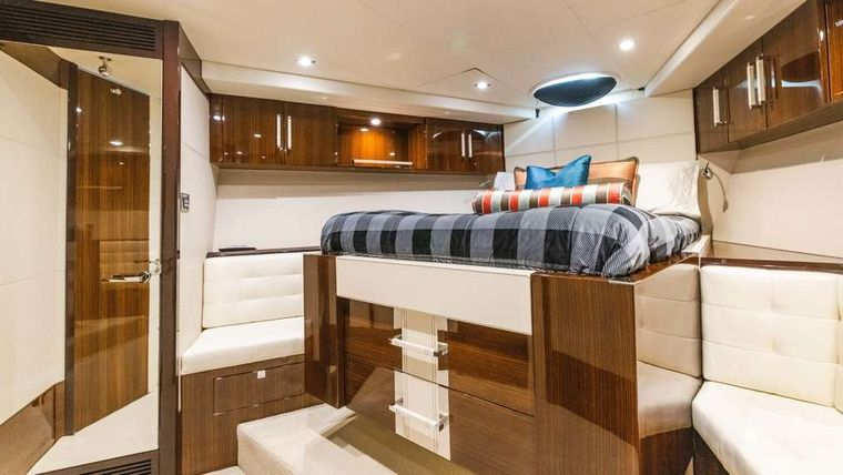 HELIOS Yacht Charter - VIP Stateroom