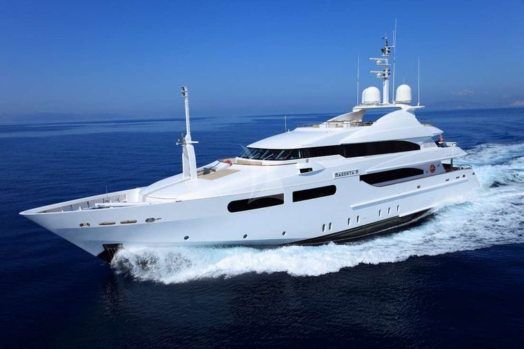 MAGENTA M Yacht Charter - Ritzy Charters