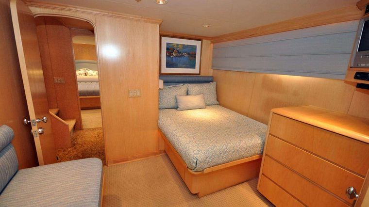 LUCKY STARS Yacht Charter - Twin guest stateroom