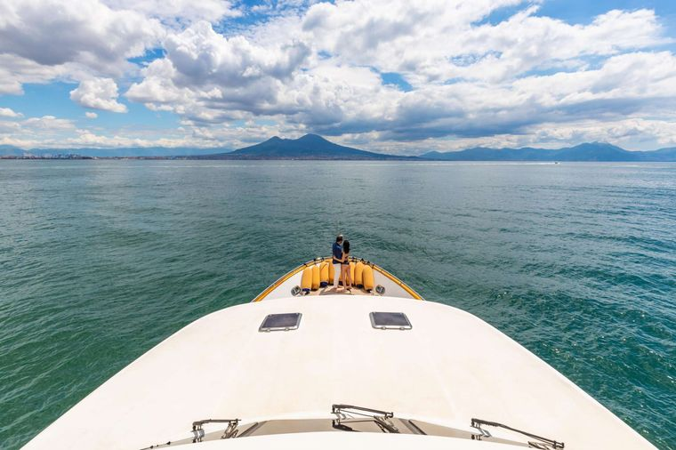SHANGRA Yacht Charter - Foredeck view