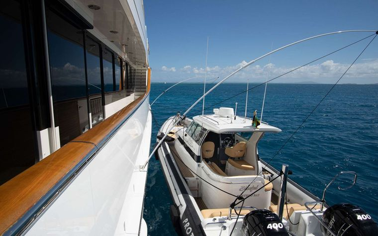PURE BLISS Yacht Charter - Pure Bliss 38 Protector