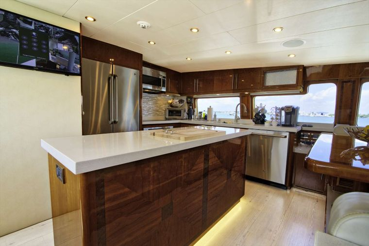 STERLING V Yacht Charter - Galley