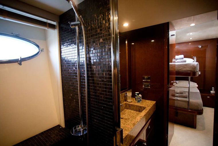 GIA SENA Yacht Charter - Up & Down bed cabin with ensuite