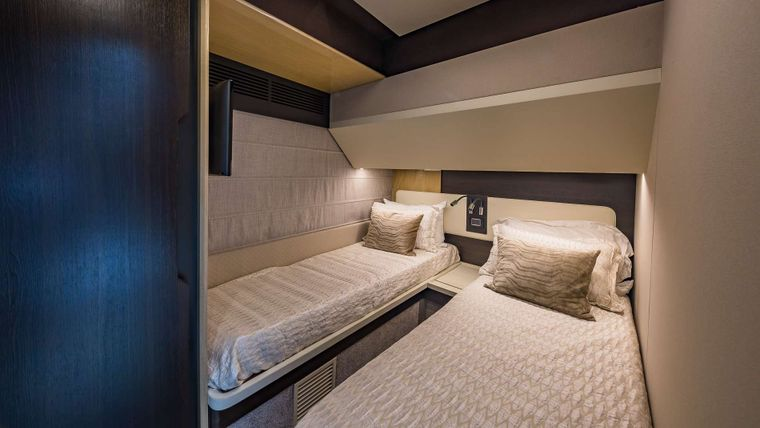 DADDY'S LADY Yacht Charter - Twin Stateroom