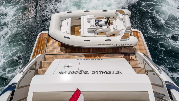 DADDY'S LADY Yacht Charter - Tender