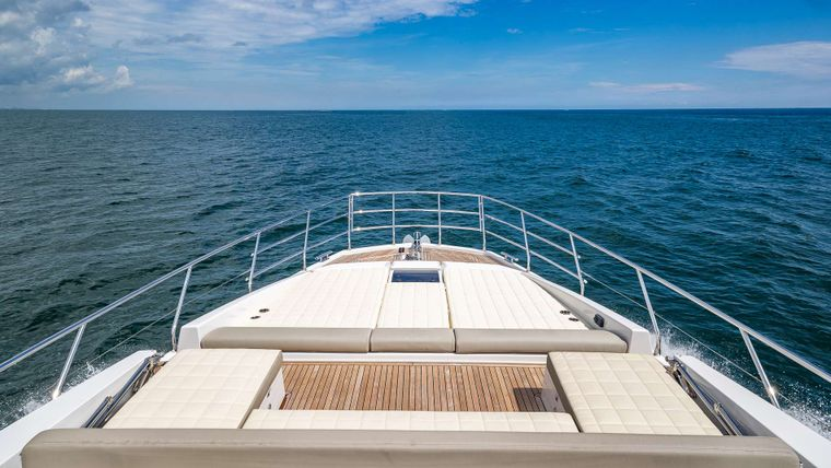 DADDY'S LADY Yacht Charter - Bow