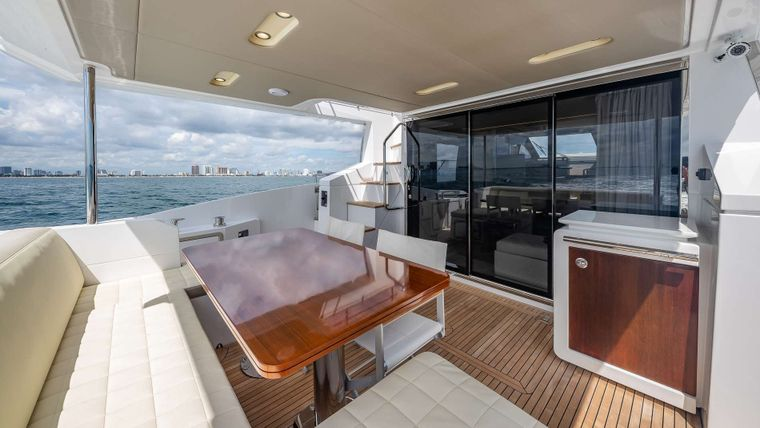 DADDY'S LADY Yacht Charter - Aft Deck Other