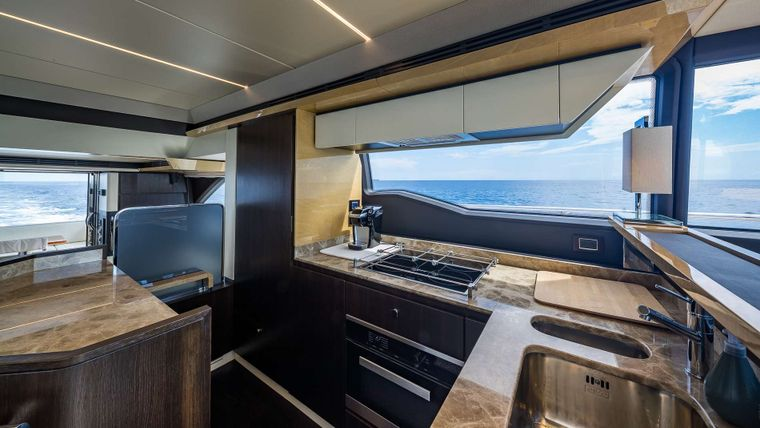DADDY'S LADY Yacht Charter - Galley