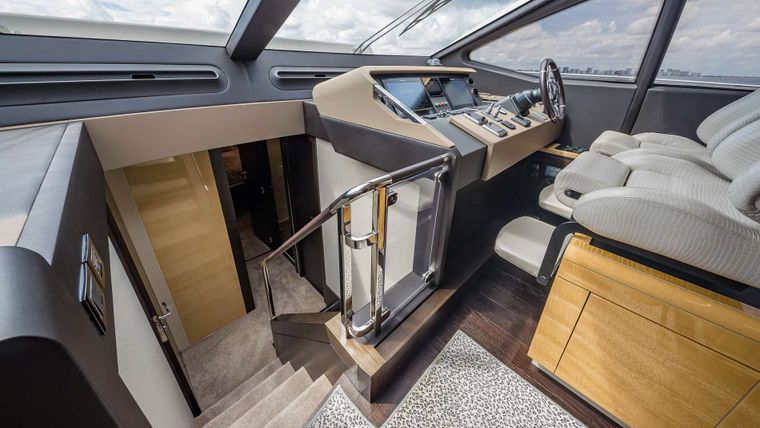 DADDY'S LADY Yacht Charter - Stairs to Staterooms