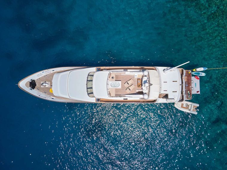 IDYLLE Yacht Charter - Top view