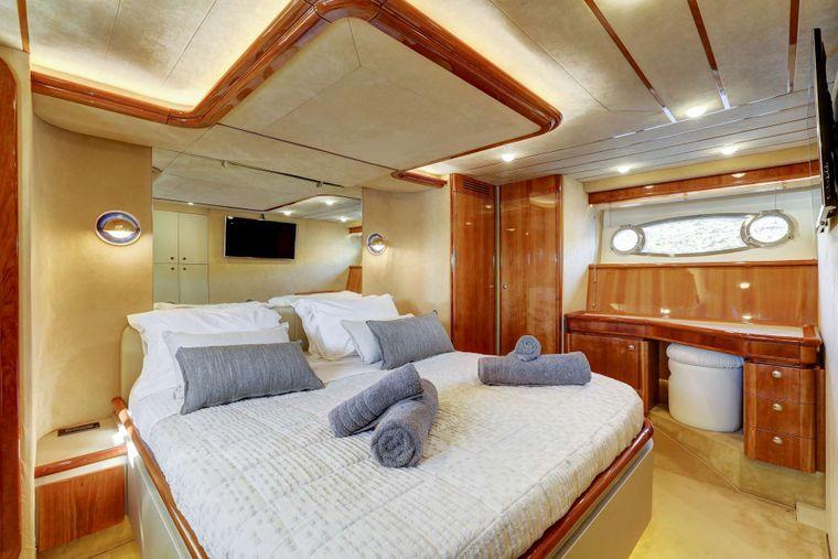 ALSIUM Yacht Charter - Master cabin other view