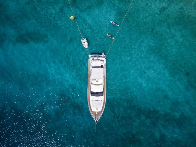 ALSIUM Yacht Charter - Aerial view