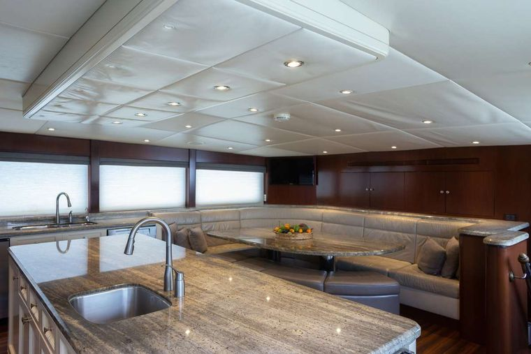 ODIN Yacht Charter - Country kitchen galley