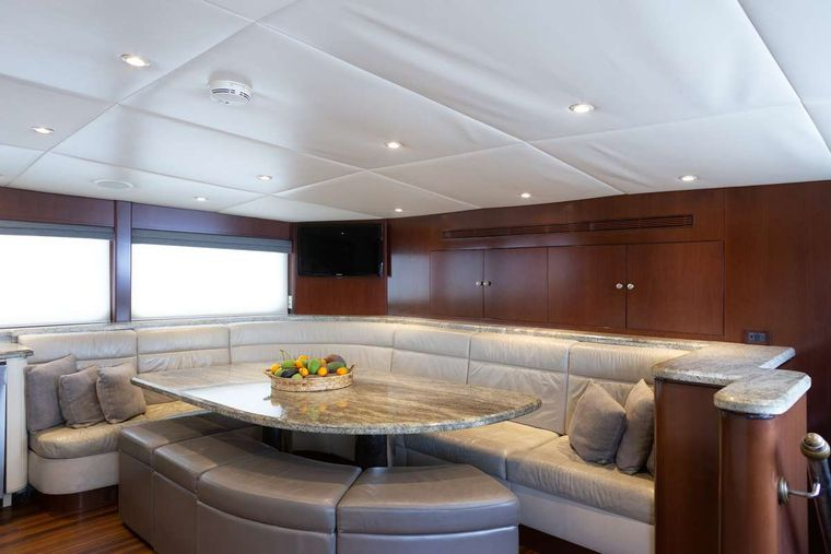 ODIN Yacht Charter - Country kitchen dining